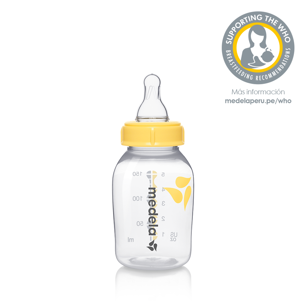 Breastmilk bottle with teat